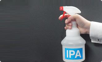 アルコール耐性のあるシール、ラベル印刷